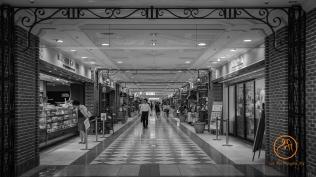 Shopping mall in Sunshine Prince Hotel