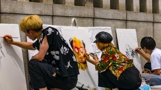 Street Artists...