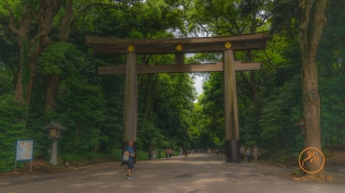 This is not really the entrance to the shrine. There is still some distance to walk.