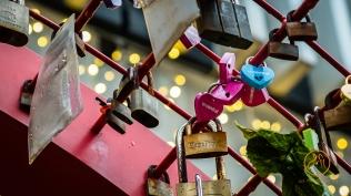 Love lock...